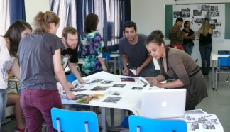 Collaborative design sessions - with students at Design School - UEMG, 2012