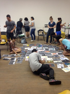 Immaterial geography: workshop open to the community