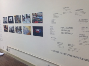 Ler o Centro / Reading the center: exhibition at Cultural Center of UFMG - 2014