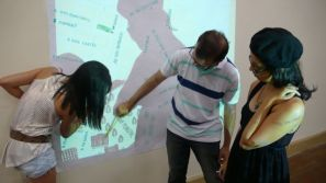 Immaterial geography of places - collaborative sessions, 2014